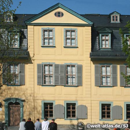 Friedrich Schillers Wohnhaus in Weimar