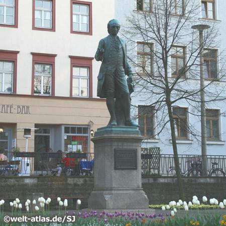 Wieland-Denkmal in Weimar