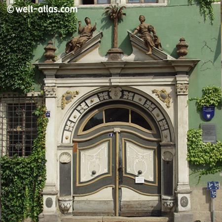 """Arnstadt, Haus """"Zum Palmbaum"""""""