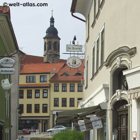 Arnstadt, Turm der Oberkirche