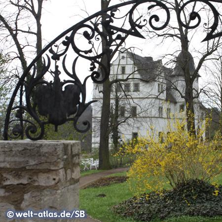 Das Renaissanceschloss gehört zu den berühmten drei Schlössern in Dornburg an der Saale