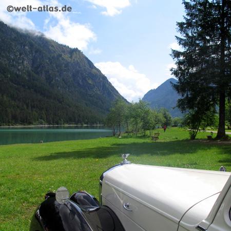 Oldtimer-Treffen am Heiterwanger See, Tirol, Österreich