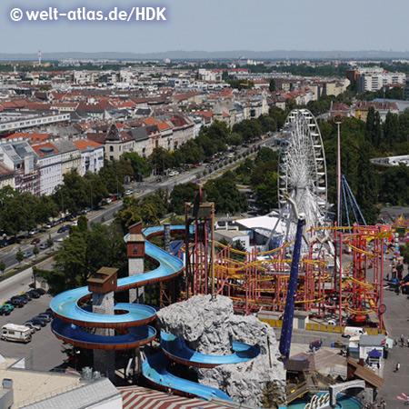 Donaumetropole Wien, Blick vom Riesenrad – Foto: mit freundlicher Genehmigung von H.-D. Krause