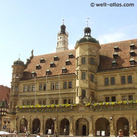 Rothenburg o. d. Tauber, Rathaus