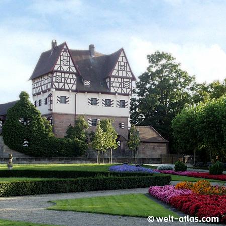 Schloss Neunhof, in Neunhof bei Kraftshof, Dürermotiv