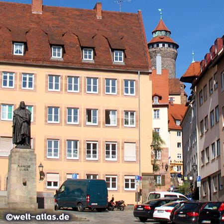 Monument of Albrecht Durer in Nuremberg