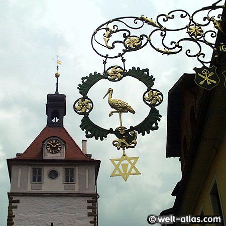 """Prichsenstadt, Gasthof und Weingut """"Zum Storch"""""""