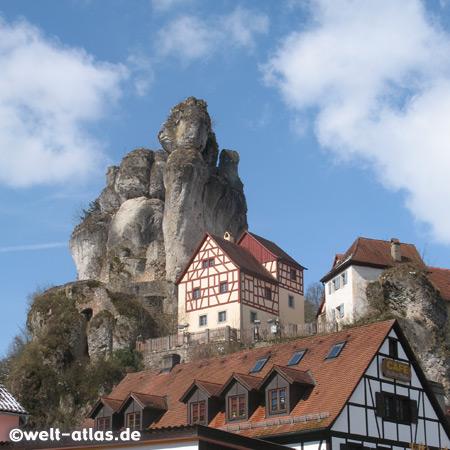 Tuechersfeld, village in the Franconian Switzerland, Bavaria