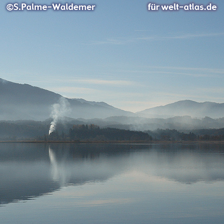 View from Murnau on the Staffelsee