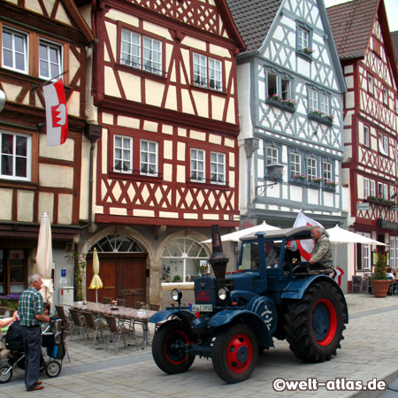 Lanz Bulldog, Ochsenfurt in the Main Valley, Bavaria, Germany