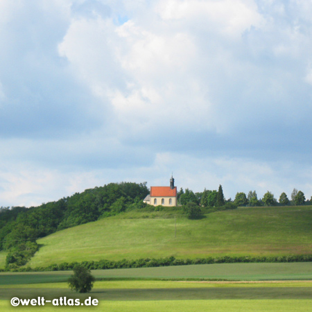 St. Gallus Church Hohn am Berg, near Schlüsselfeld, Franconia
