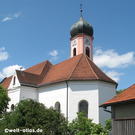 Church of St. Ulrich in Seeg,Allgäu, Germany