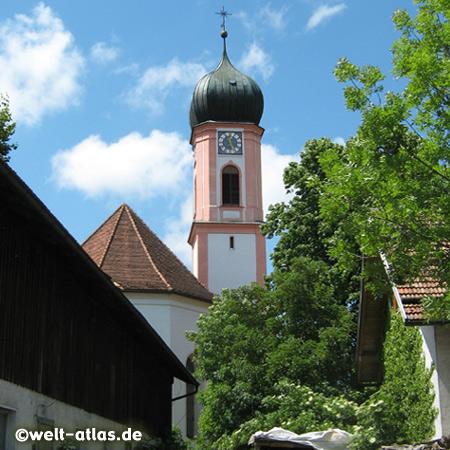 Rokokokirche St. Ulrich in Seeg, Allgäu