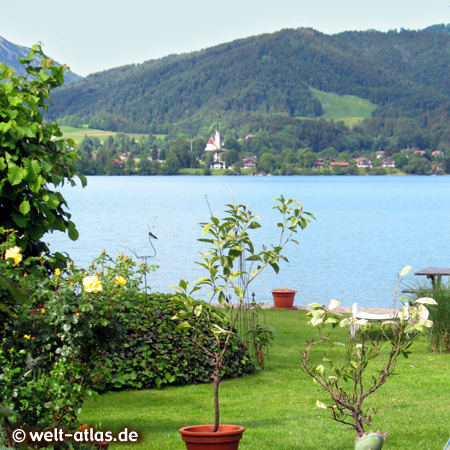Lake Tegernsee, Bad Wiessee, Bavarian Alps