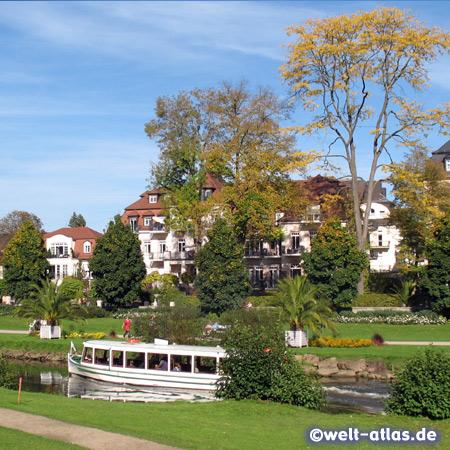 Schifffahrt im Kurort Bad Kissingen