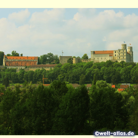 Castle Willibaldsburg in Eichstätt, heart of the Altmühl Valley