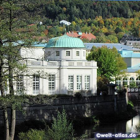 Kuranlagen in Bad Kissingen an der Fränkischen Saale