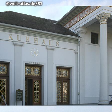 Das Kurhaus Baden-Baden mit Casino, Mittelpunkt und Wahrzeichen der Stadt