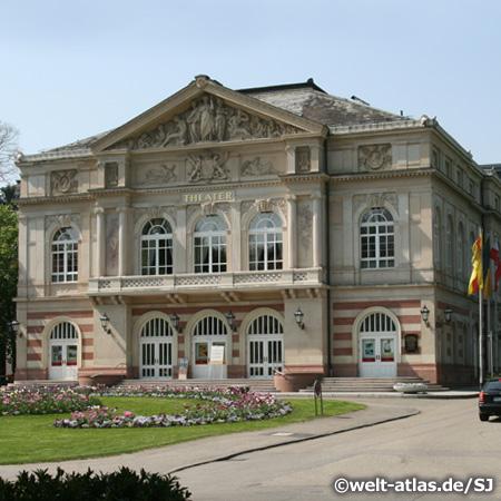 Das Theater der Stadt Baden-Baden  am Goetheplatz