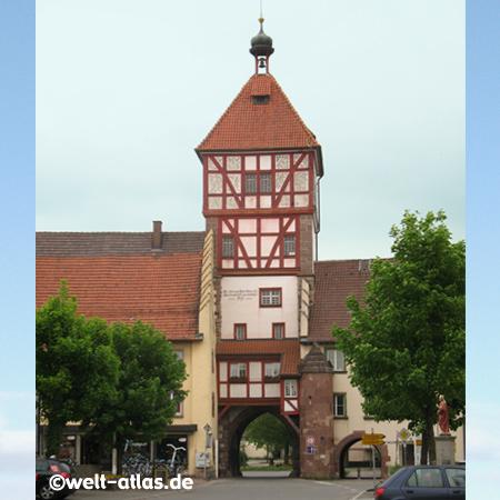Stadttor in Bräunlingen, zwischen Schwarzwald und Jura