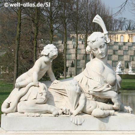 Sphinx in Sanssouci ParkSchloss Sanssouci, PotsdamUNESCO World Heritage Site