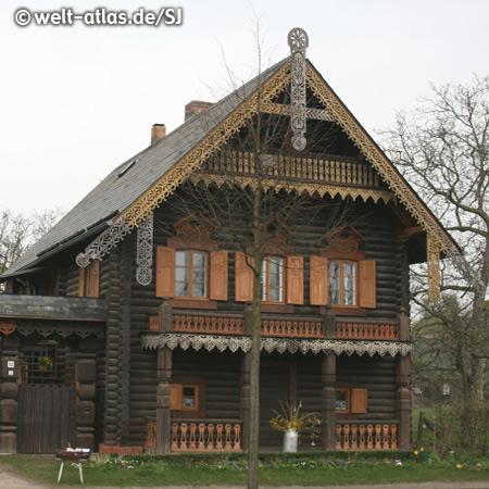 Russian Colony Alexandrowka, Russian blockhouses created 1826-27