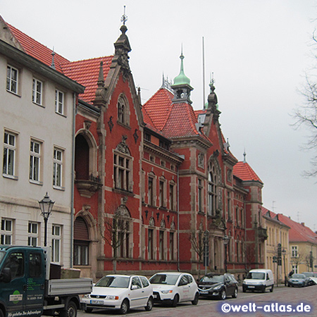 Neuruppin, Sitz der Kreisverwaltung Ostprignitz-Ruppin