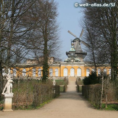 Historical Mill, Sanssouci, Potsdam