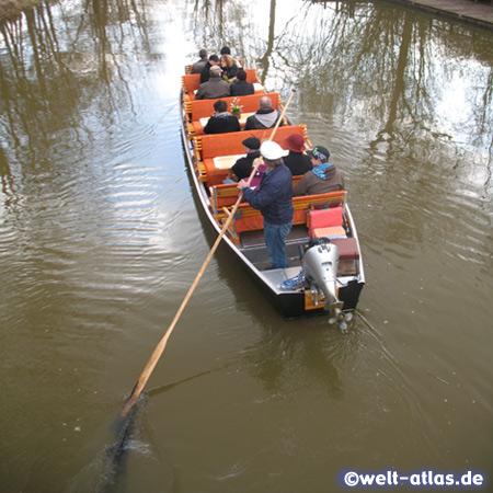 Spreewald Boat in Luebben