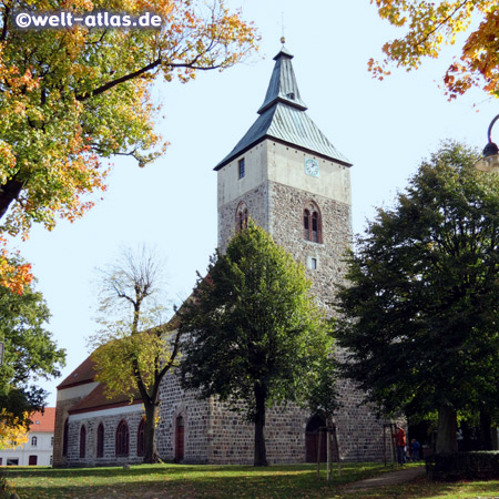 The Stadtkirche from the 13. Century in Altlandsberg near Berlin