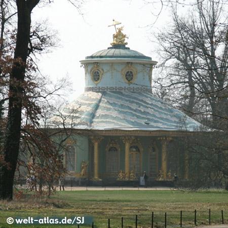 Chinese Tea-House, Sanssouci Park, Potsdam