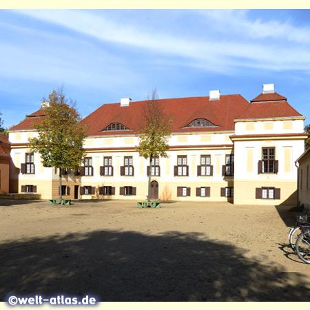 Caputh Palace near Potsdam at Lake Templim,Potsdam cultural landscape