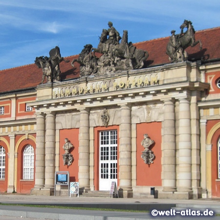 The Potsdam Film Museum in the former orangery at the Potsdam City Palace
