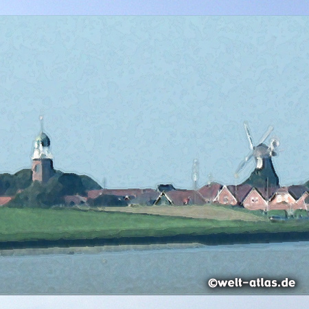 foto blick nach delfzijl niederlande welt. Black Bedroom Furniture Sets. Home Design Ideas