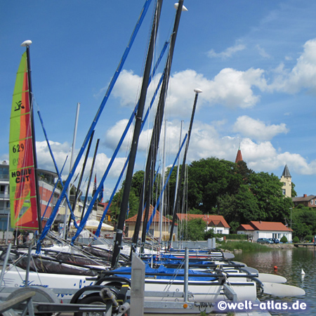 Im Hafen von Altefähr auf Rügen