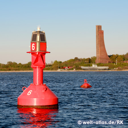 Marine Memorial Laboe at the Kiel Firth