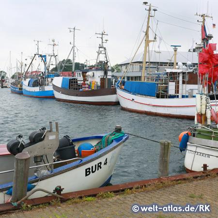 Fishing Port of Burgstaaken Fehmarn island