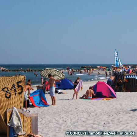 """Strand """"Kalifornien"""" in Schönberg an der Ostsee"""