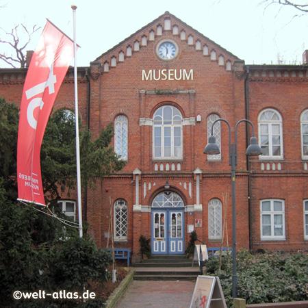 Im ehemaligen Amtsrichterhaus im Zentrum von Pinneberg an der Dingstätte befindet sich heute das Stadtmuseum Pinneberg