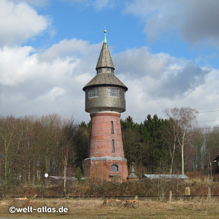 Former water tower of Pinneberg