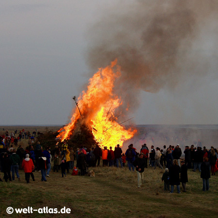 Easter Fire in St. Peter-Ording