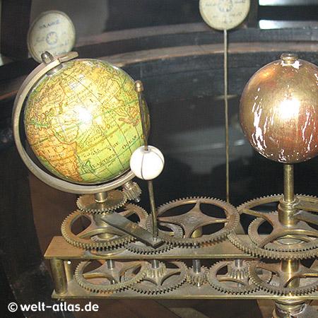 Schloß Gottorf, Ausstellung alter Globen, Schleswig