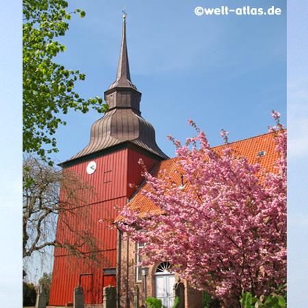St. Nikolauskirche in Brokdorf, Kreis Steinburg