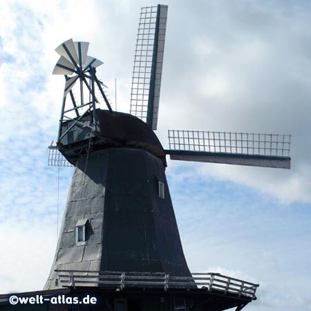 Windmühle Anna, Galerieholländermühle und Landhandel in Süderhastedt