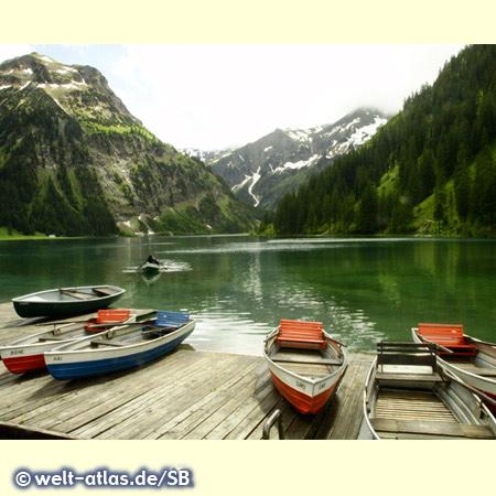 Nach dem Unwetter, Vilsalpsee in Tirol