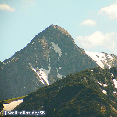 Berggipfel im Tannheimer Tal
