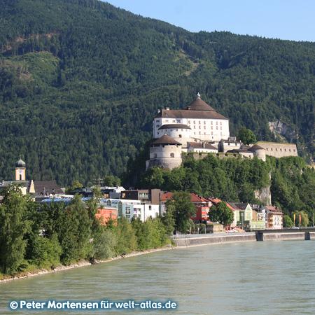Die Festung in Kufstein, Wahrzeichen der Stadt