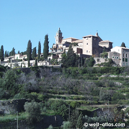 Valldemossa, Mallorca,ehemaliges Kloster