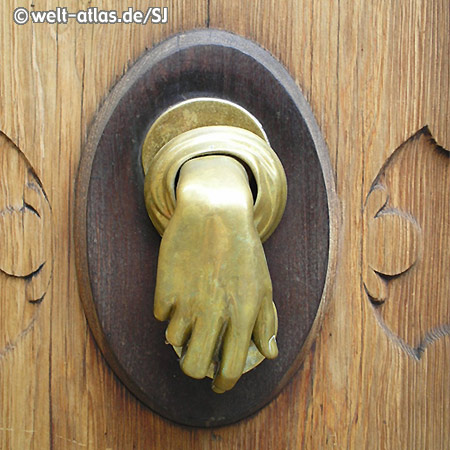 Historical doorknocker in Manacor