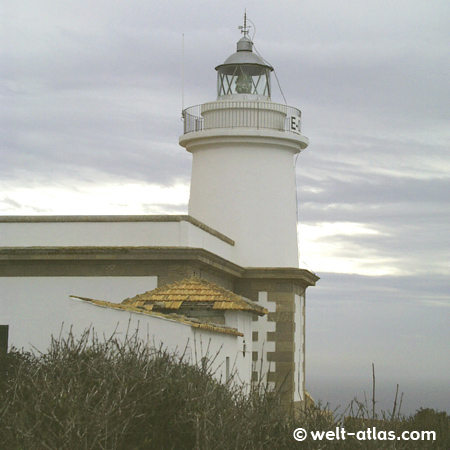Lighthouse of Cap Blanc, Balearic Island/Majorca, SpainPosition: 39° 22' N | 002° 47' E